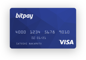 Bitcoin-fueled VISA debit card from Bitpay. Getting back into USD is really this easy.